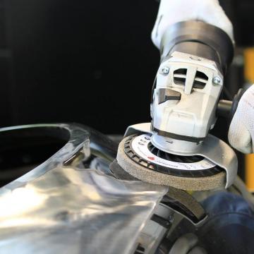 Metalo šlifavimo įranga ir medžiagos